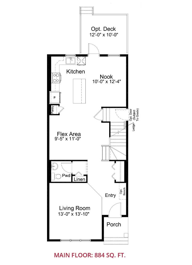 Belvedere Rise Calgary, Single Family Home, Claremont