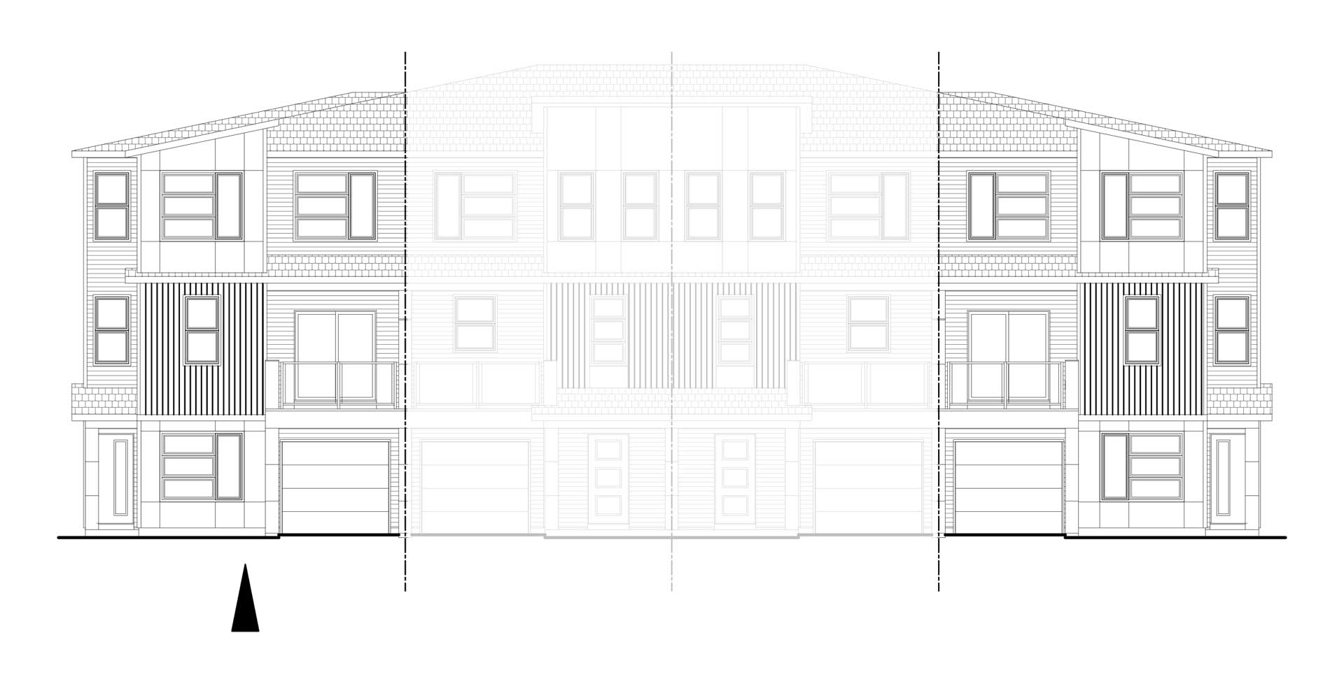 Belvedere Rise Calgary, Back to Back Townhome Units